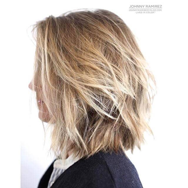 Easy Soft Blond Shoulder-length Blend