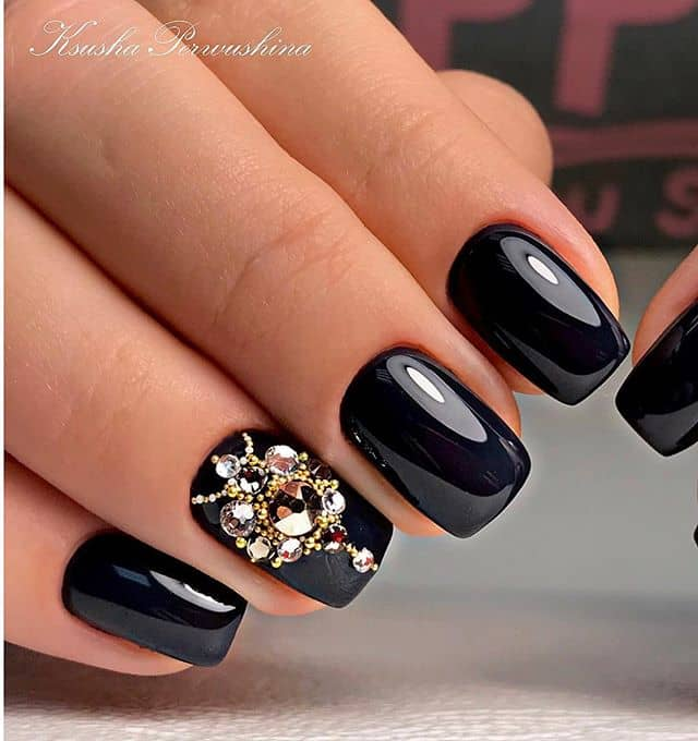 Ornate Nail Gems With Vintage Flair