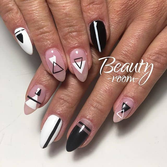 These Nails are Geometrically Gorgeous