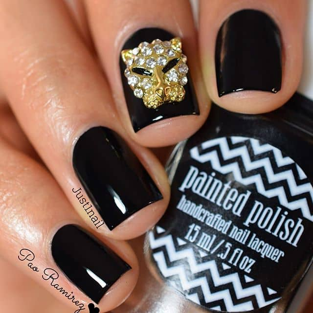 Lion Ornament Nails for Courage and Class