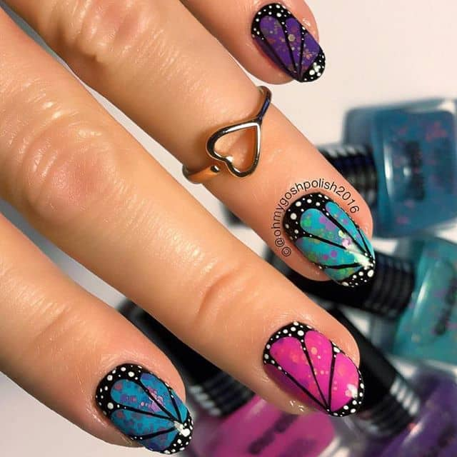 Eye-Catching Delicate Butterfly Wing Inspired Design