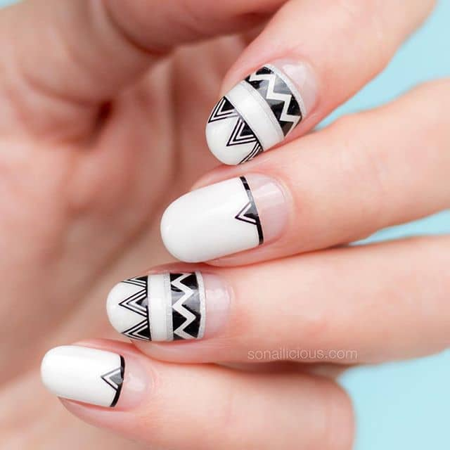 Triangles and Zig-Zags, the Native Look