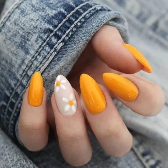 Floral and Orange Spring Fling