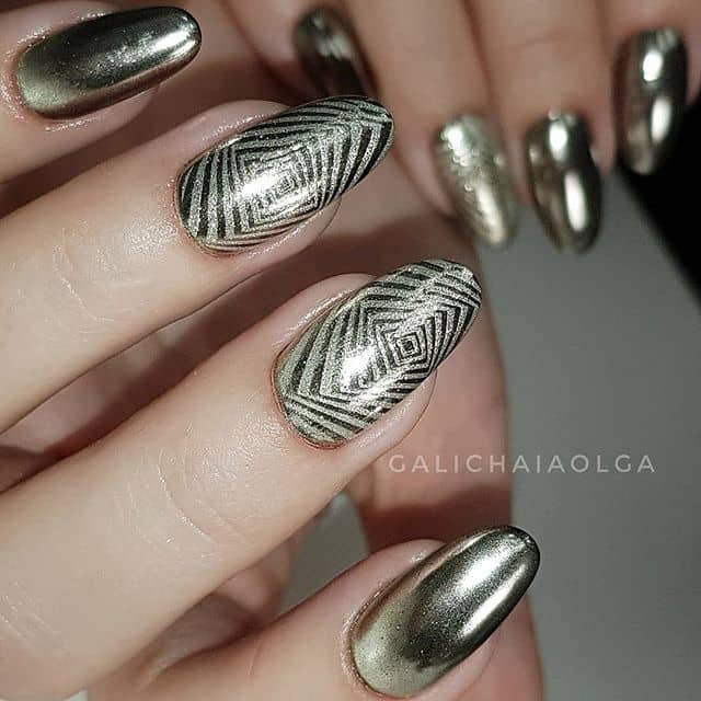 Gorgeous Geometric Stamped Tips