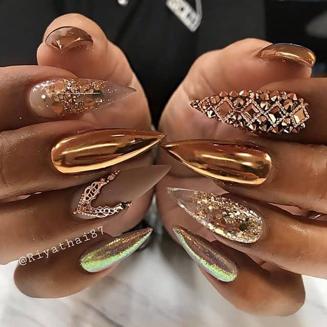 Royal Nails as Pretty as a Penny!