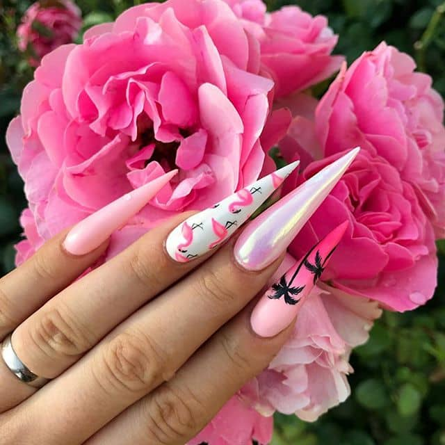 These Beachy Nails are on Point!