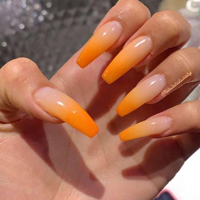 Peaches n' Cream Orange Ombre