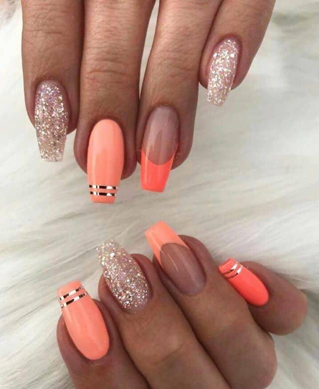 Pinky Orange Mix n' Match