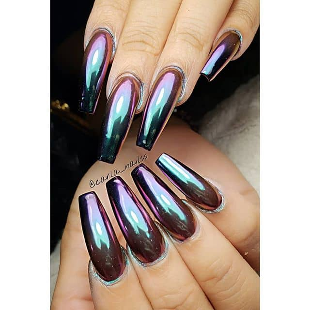 Shiny Metallic Mermaid Knockouts