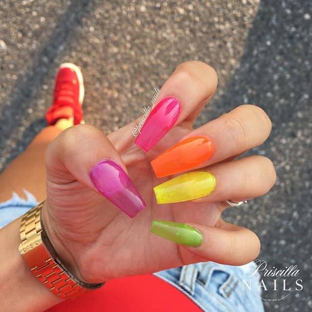 The Best Translucent Rainbow Acrylics
