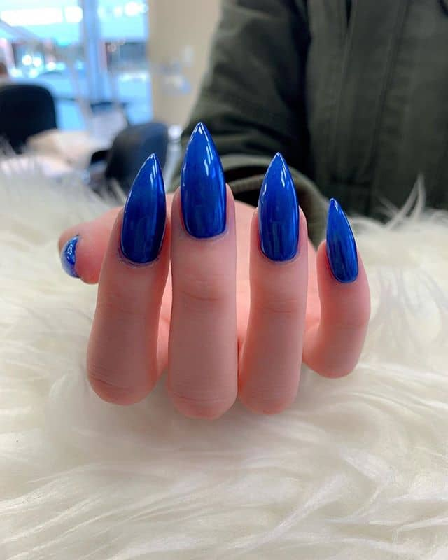 Nails that are too Blue to be True