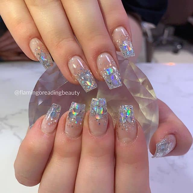 50 Cool Glitter Ombre Nail Design Ideas That are Trending ...