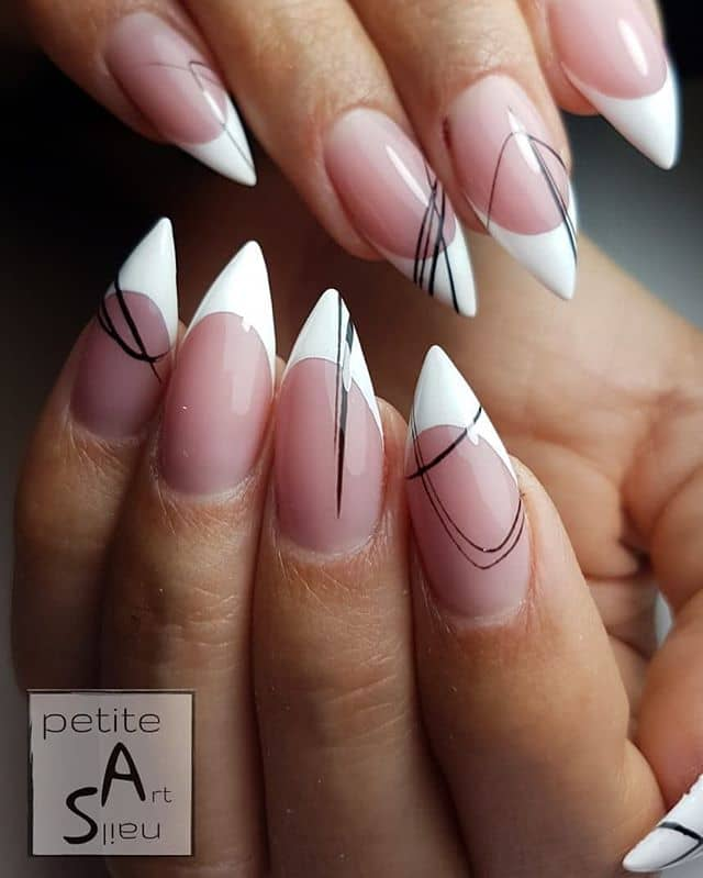 Daring and Dashing French Manicure Spin Off