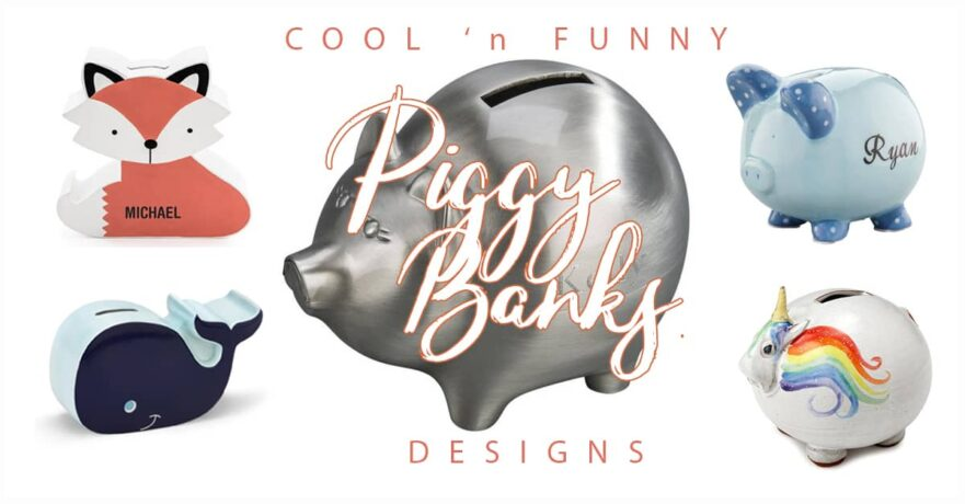 50 Adorable Piggy Bank Ideas for Great Gifts