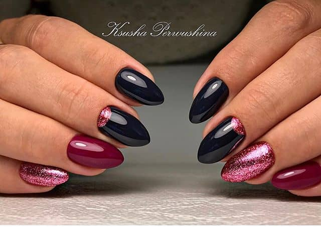 Dushka Mountain Peak Nails for Any Formal Event