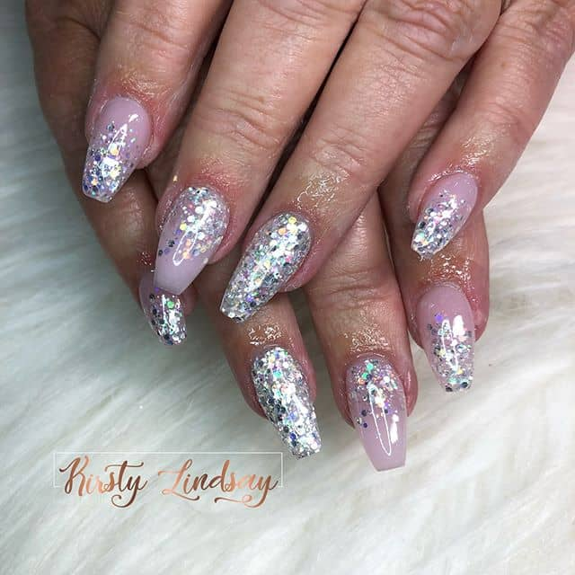 Glitter Sparkle Kirsty Lindsay Nails Stay Shining
