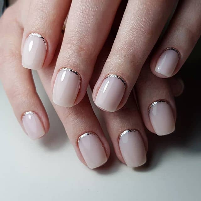 Beautiful and Delicate Baby Pink Nails