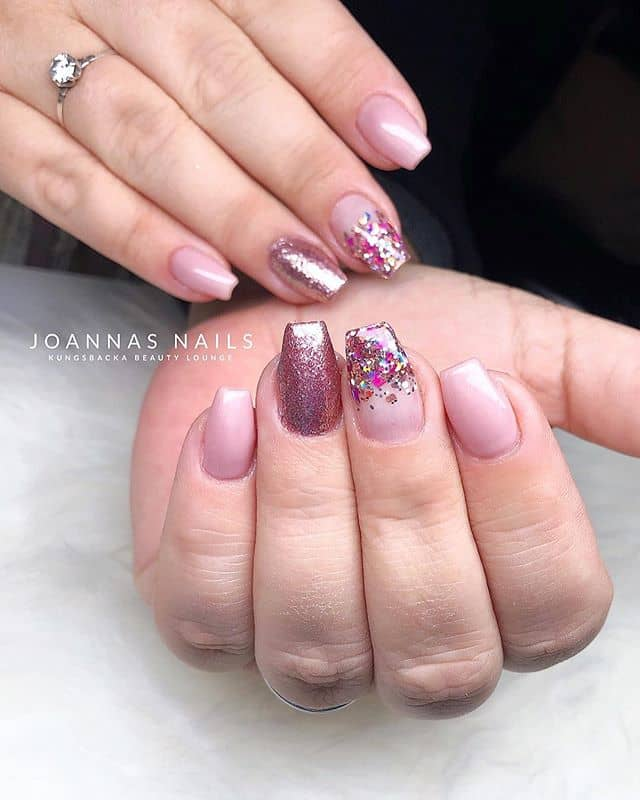 Incredible Shine Rosey & Paleshine Nails