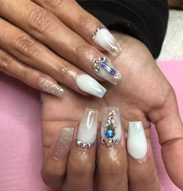 Royal Jewel-Inspired Nails by Alexa