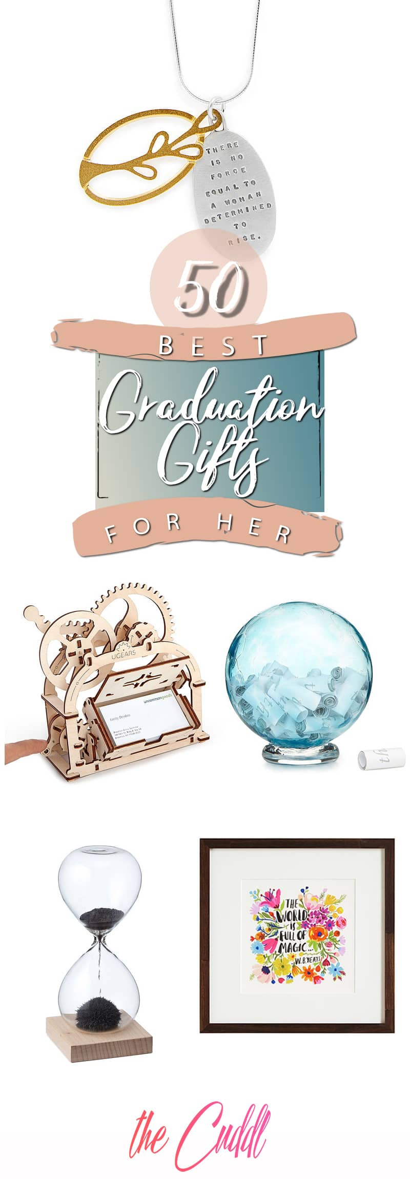 50 Fun Graduation Gifts for Her She'll Totally Love