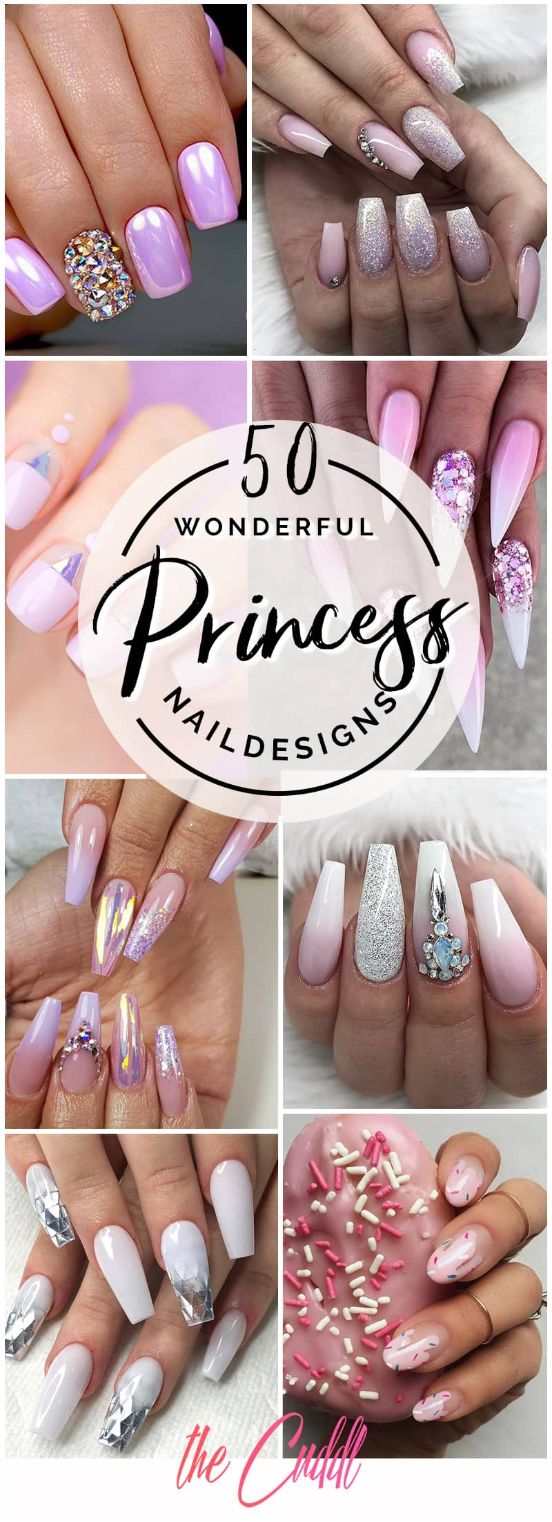 50 Sophisticated Princess Nails for the Modern Woman