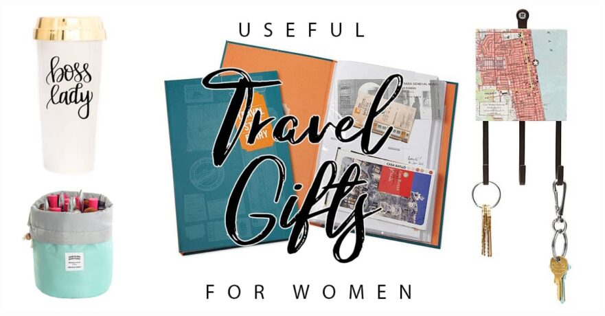 50 Fun and Useful Travel Gifts for Her that She Will Love