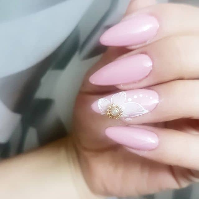 Pretty Pastel Pink With Accents