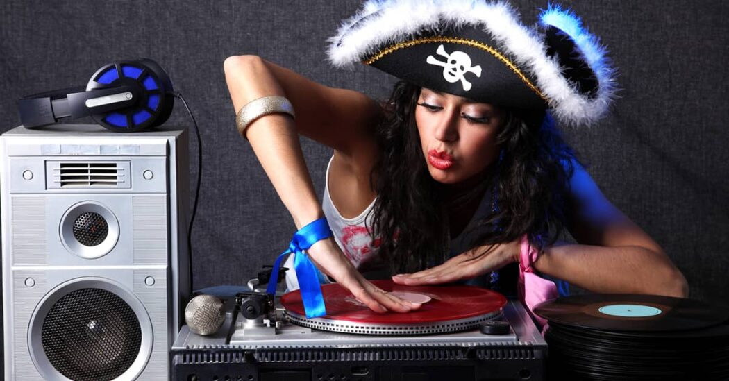 Halloween pirate accessories for adults and kids