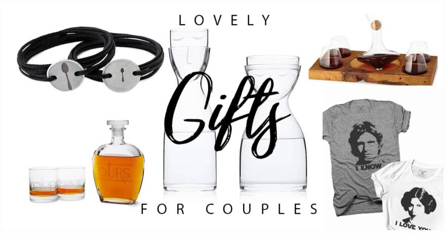 50 Sweet Gifts for Couples in Love