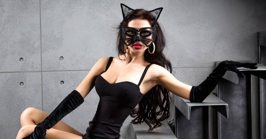 Catwoman superhero costume ideas for ladies