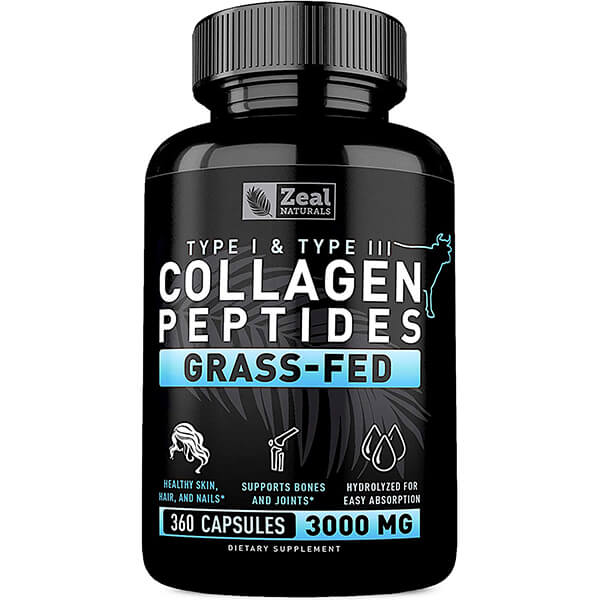 Pure Collagen Peptides Collagen Pills